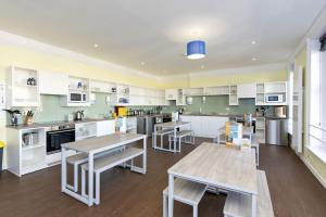 A restaurant or other place to eat at YHA Swanage