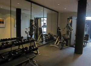The fitness center and/or fitness facilities at Black Rock Oceanfront Resort