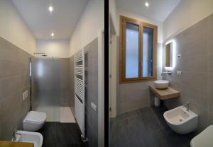 A bathroom at Carbonaia Venezia