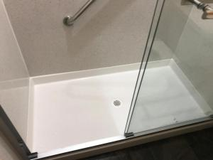 A bathroom at Boston Hotel