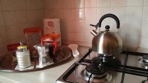 A kitchen or kitchenette at Casa Nax
