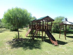 Zona de juegos para niños en Cabañas Señales
