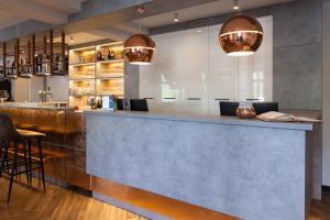 De lobby of receptie bij Best Western Hotel Den Haag