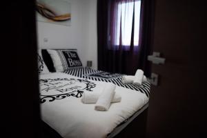 Krevet ili kreveti u jedinici u objektu Ivana Sky