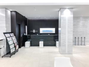 The lobby or reception area at HOTEL UNIZO Osaka Umeda