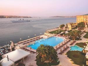 A view of the pool at Çırağan Palace Kempinski Istanbul or nearby
