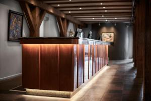 The lobby or reception area at 71 Nyhavn Hotel