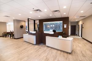 The lobby or reception area at Fairfield Inn & Suites Atlanta Airport North