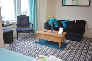 A seating area at The Oxfordshire Hotel