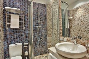 Ванная комната в Отель Воронцовский