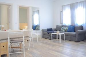 A seating area at Apartamentos El Marinero - Salado