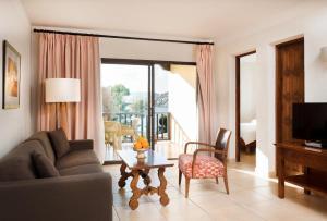Coin salon dans l'établissement Hapimag Resort Paguera