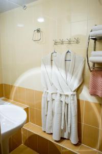 Ванная комната в Fedorov ApartHotel Barnaul