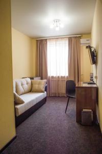 Гостиная зона в Fedorov ApartHotel Barnaul