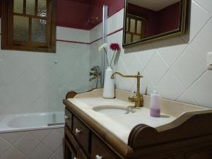 A bathroom at Casa Mañoso