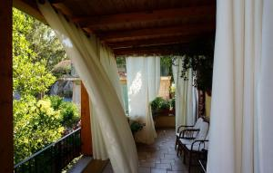 Balcone o terrazza di B&B Lo Sparviero