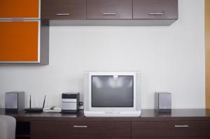 Una televisión o centro de entretenimiento en CALLE LOBO 17