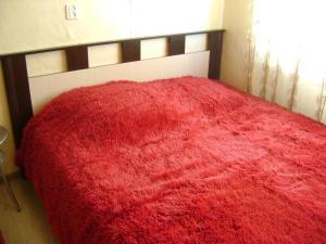 Кровать или кровати в номере Апартаменты на Ленской