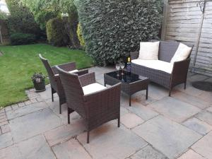 A porch or other outdoor area at Sawbridgeworth Bed & Breakfast