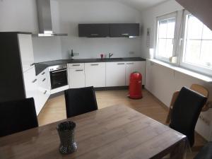 Küche/Küchenzeile in der Unterkunft Blix FeWo Kevelaer