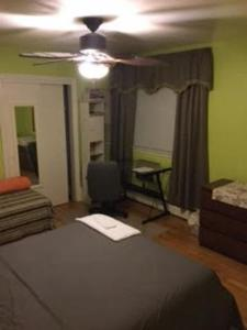 A bed or beds in a room at friendly home