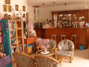 Лаундж или бар в Hotel Alexandros