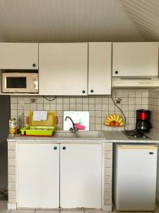 A kitchen or kitchenette at Residence Le Royaume du Soleil