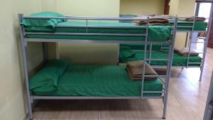 A bunk bed or bunk beds in a room at Albergue Los Caminantes 2