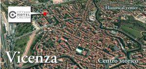 Certificato, attestato, insegna o altro documento esposto da CityHotel Cristina Vicenza