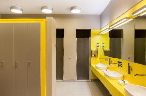 Ванная комната в Бутик Отель Родники