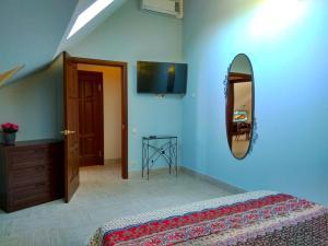 Кровать или кровати в номере Отель Ключ