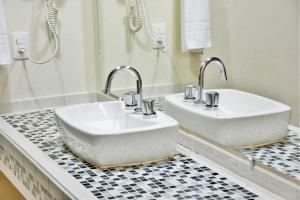 Um banheiro em Recanto Alvorada Eco Resort