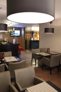 Um restaurante ou outro lugar para comer em Hotel Principe Lisboa