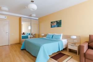 Кровать или кровати в номере Отель Гранд Каньон
