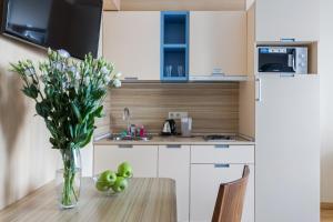 Кухня или мини-кухня в Отель Гранд Каньон