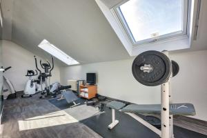 The fitness center and/or fitness facilities at Hotel Residenz Limburgerhof