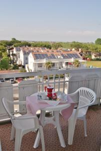 A balcony or terrace at Marcello