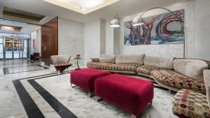 The lobby or reception area at Hotel Mela Times Square