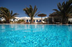 The swimming pool at or near Petinaros Hotel