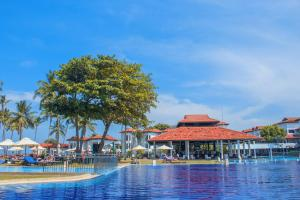 The swimming pool at or near Club Hotel Dolphin