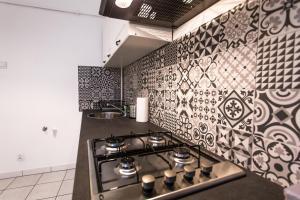 Kuchnia lub aneks kuchenny w obiekcie Vistula Apartments