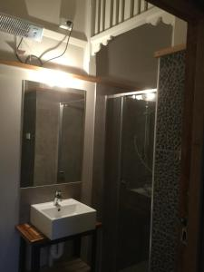 A bathroom at The Station House