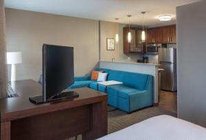 A television and/or entertainment center at Residence Inn by Marriott Boston Burlington