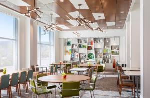 A restaurant or other place to eat at Residence Inn by Marriott Boston Burlington
