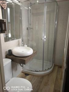 A bathroom at La Casita de Las Palmas