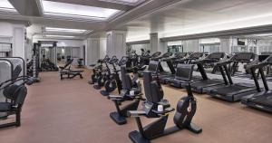 The fitness center and/or fitness facilities at Hotel Crescent Court