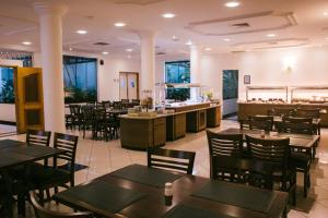 A restaurant or other place to eat at Hotel Plaza Mayor