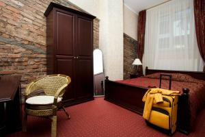 Ein Sitzbereich in der Unterkunft Boutique Hotel Monte Kristo