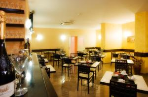 A restaurant or other place to eat at Hotel Bright