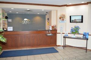 The lobby or reception area at Baymont by Wyndham Waterford/Burlington WI